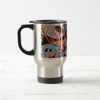 Tasse de café magique de voyage de champignons