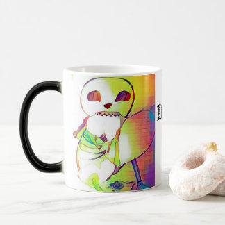 Tasse de café Morphing numérique de Nom Nom de
