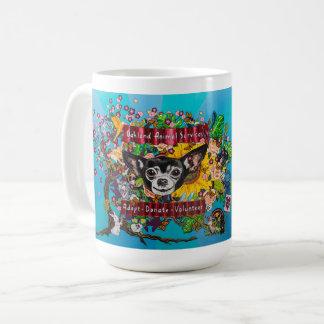 Tasse de café murale de chiwawa d'OAS