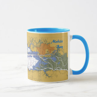 Tasse de café nautique de diagramme d'Abalama de