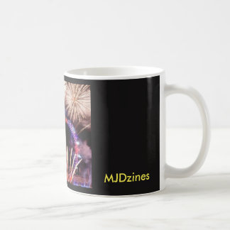 Tasse de café noir d'oeil de Londres