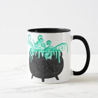 Tasse de café païenne de chaudron de breuvage