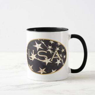 Tasse de café patriotique des Etats-Unis
