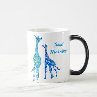Tasse de café personnalisable de girafe
