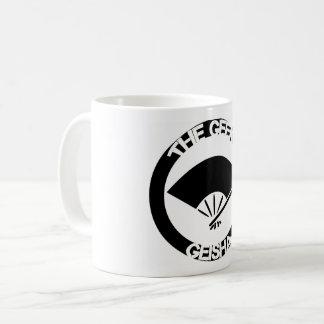 Tasse de café, poignée blanche