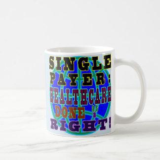 Tasse de café simple de débiteur