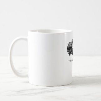 Tasse de café simple de logo de Buffalo
