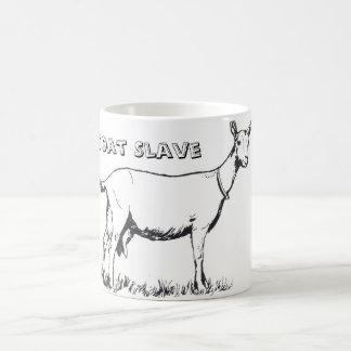 Tasse de café slave de chèvre