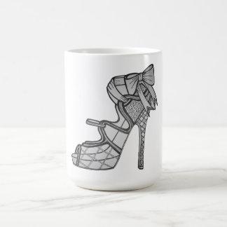 Tasse de café Strappy de talon haut