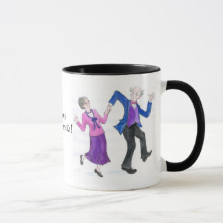 Tasse de café super de grands-parents