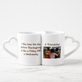 Tasse de calembour de Friendsday