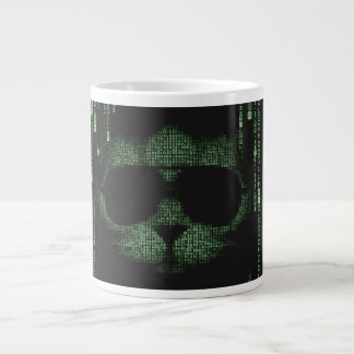 Tasse de chat de Matrix