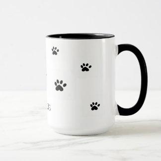 Tasse de chats d'amour
