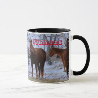 Tasse de chevaux du Kansas
