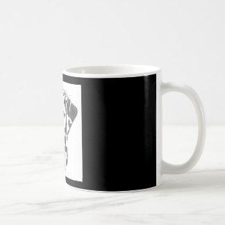 Tasse de chien de Dalmation