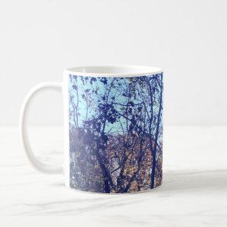 Tasse de cimes d'arbre