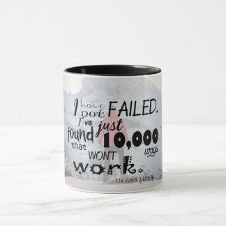 tasse de citation de 11 onces Thomas Edison