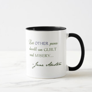 Tasse de citation de Jane Austen