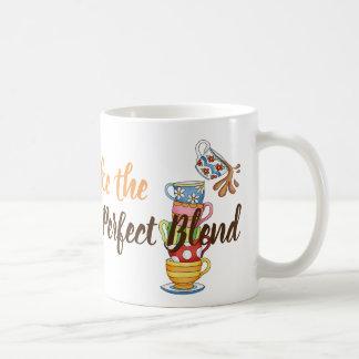 Tasse de classique de café et d'ami