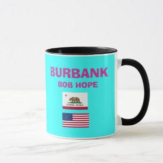 Tasse de code d'aéroport de bureau de Burbank* Bob