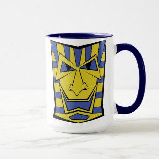 Tasse de Coffe de masque de Tiki d'Egyptien