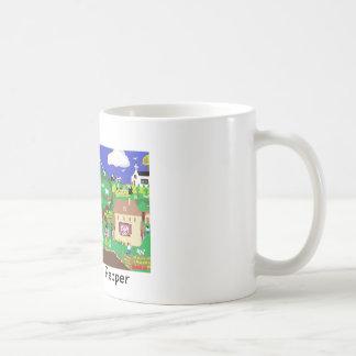 Tasse de Coffe : Voyage avec le poivre le chat