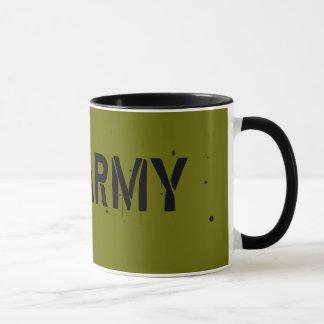 Tasse de conception d'armée de Jah