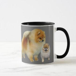 Tasse de copains de Pomeranian