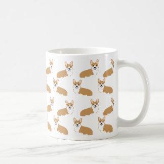 Tasse de corgi - conception mignonne de corgis