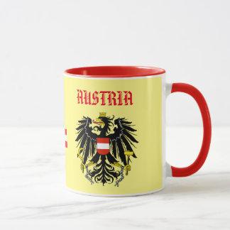 Tasse de coutume de crête du Burgenland Autriche