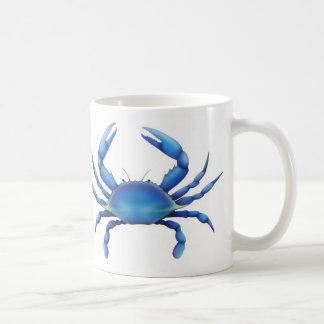 Tasse de crabe bleu