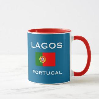 Tasse de crête de Lagos Portugal