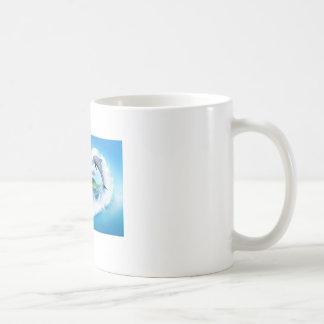 Tasse de dauphin de bleus layette