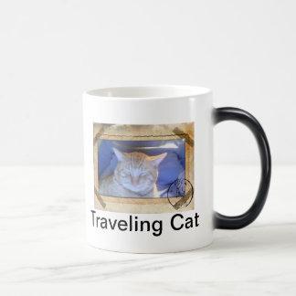 Tasse de déplacement de chat