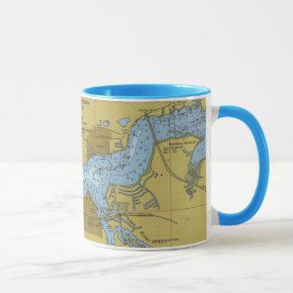 Tasse de diagramme de rivière de lamantin de