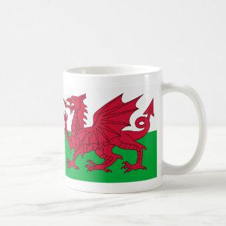 Tasse de drapeau de dragon de Gallois