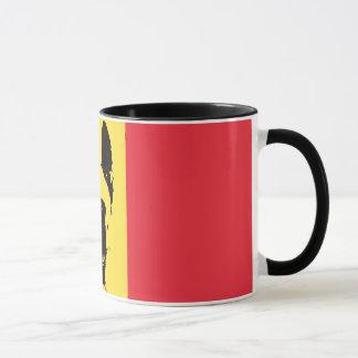 Tasse de drapeau de Malinois de Belge