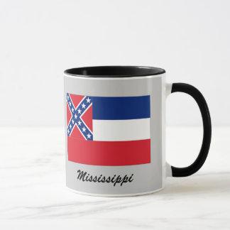 Tasse de drapeau d'état du Mississippi