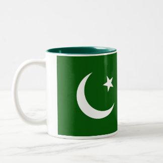Tasse de drapeau du Pakistan