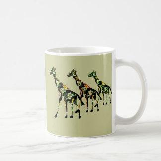 Tasse de faune de girafe