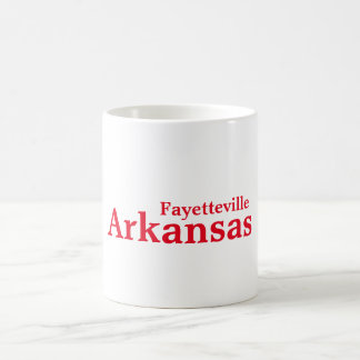Tasse de Fayetteville, Arkansas