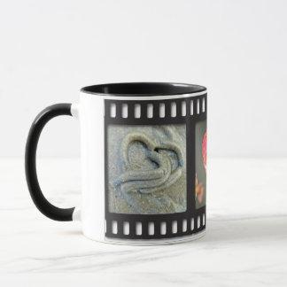 tasse de filmstrip de Coeur-dans-nature