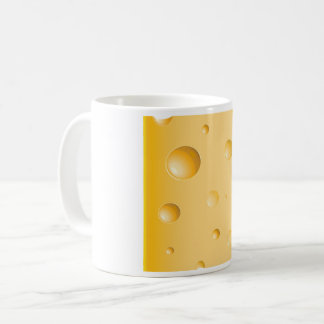 Tasse de fromage de gruyère
