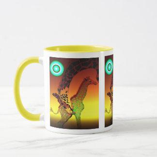 tasse de girafe