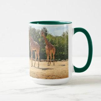 Tasse de girafes