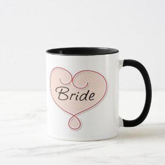 Tasse de jeune mariée