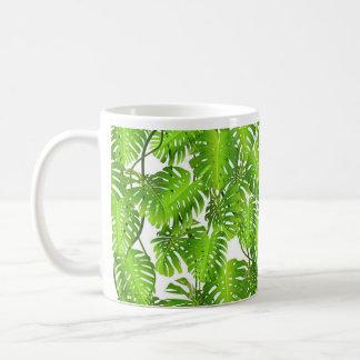 Tasse de jungle, palmette