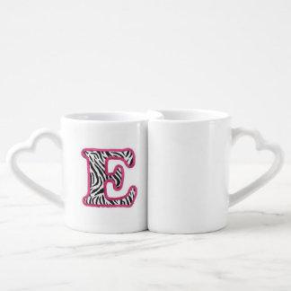 """Tasse de la lettre """"E"""""""