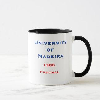 Tasse de la Madère - de l'université de la Madère