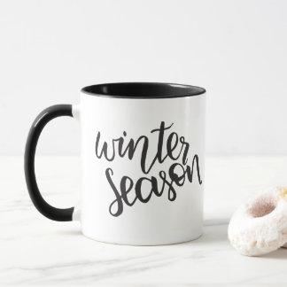 Tasse de la saison | d'hiver